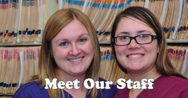 Veterinary staff at Plainfield Veterinary Clinic